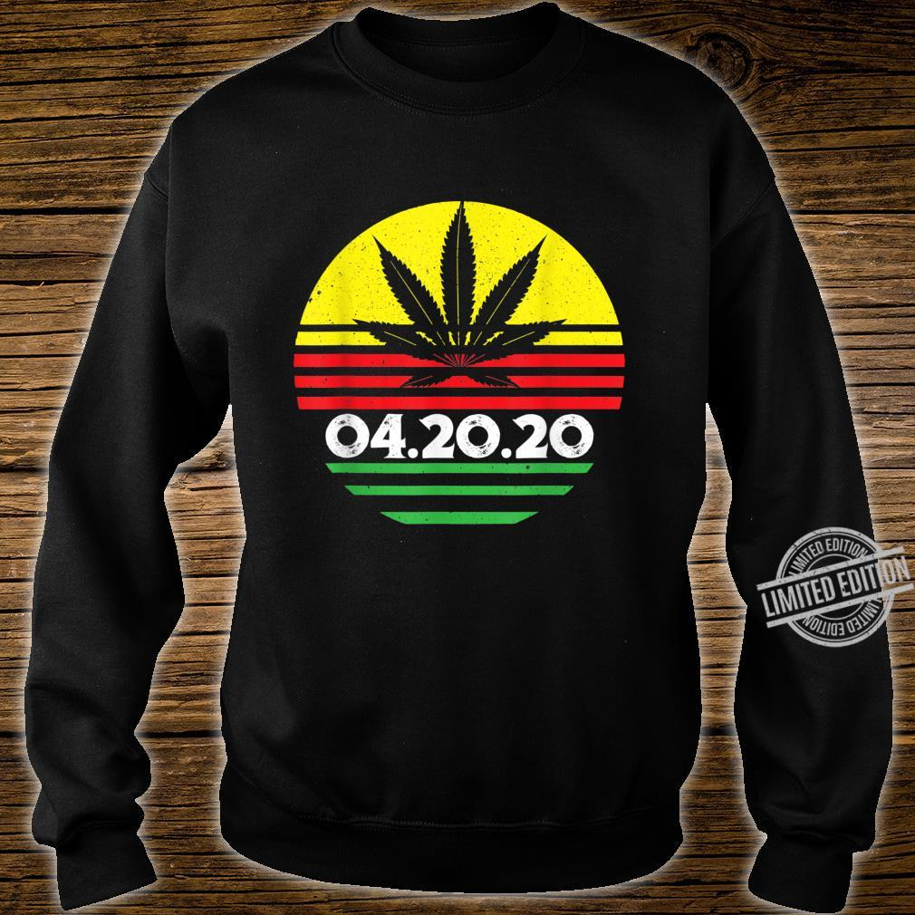 04.20.2020 Cannabis Stoner Weed Smoker's Marijuana 420 Shirt sweater