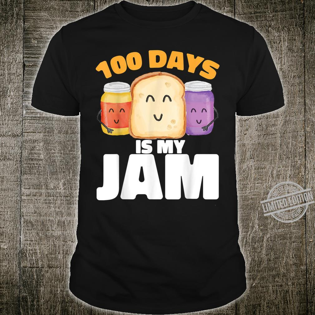 100 DAYS OF SCHOOL IS MY JAM 100th Day for Teacher Student Shirt