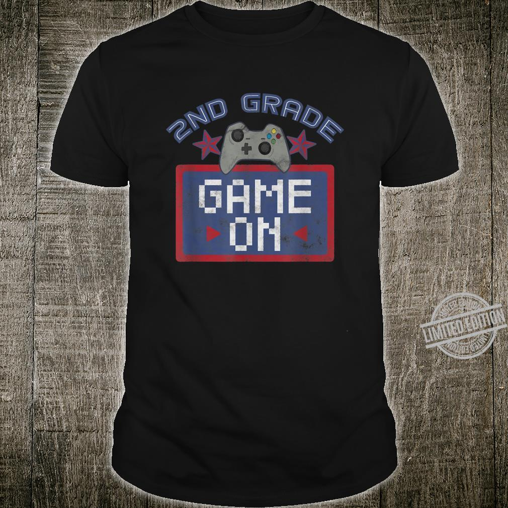 100 Days of School It's only a game, let's go on Shirt
