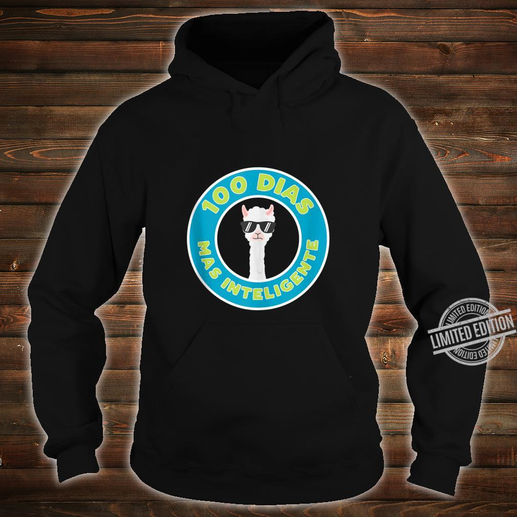100 Days of School in Spanish for Teachers and Students Shirt hoodie