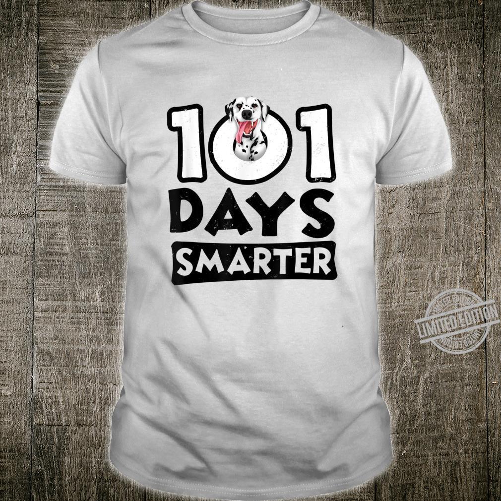 101 Days Smarter Dalmatian Shirt