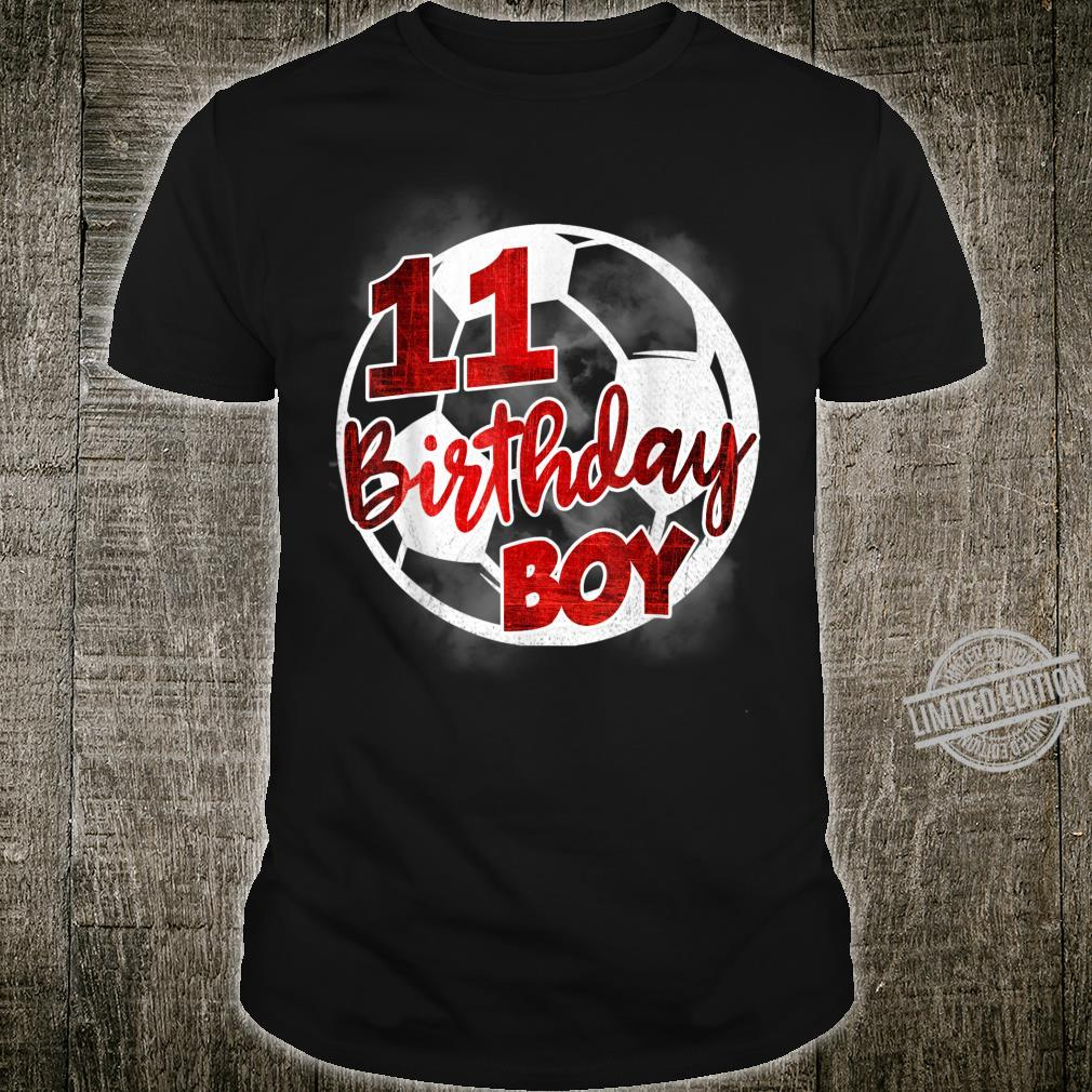 11th Birthday Boy Soccer 11 Years Old Soccer Player Shirt