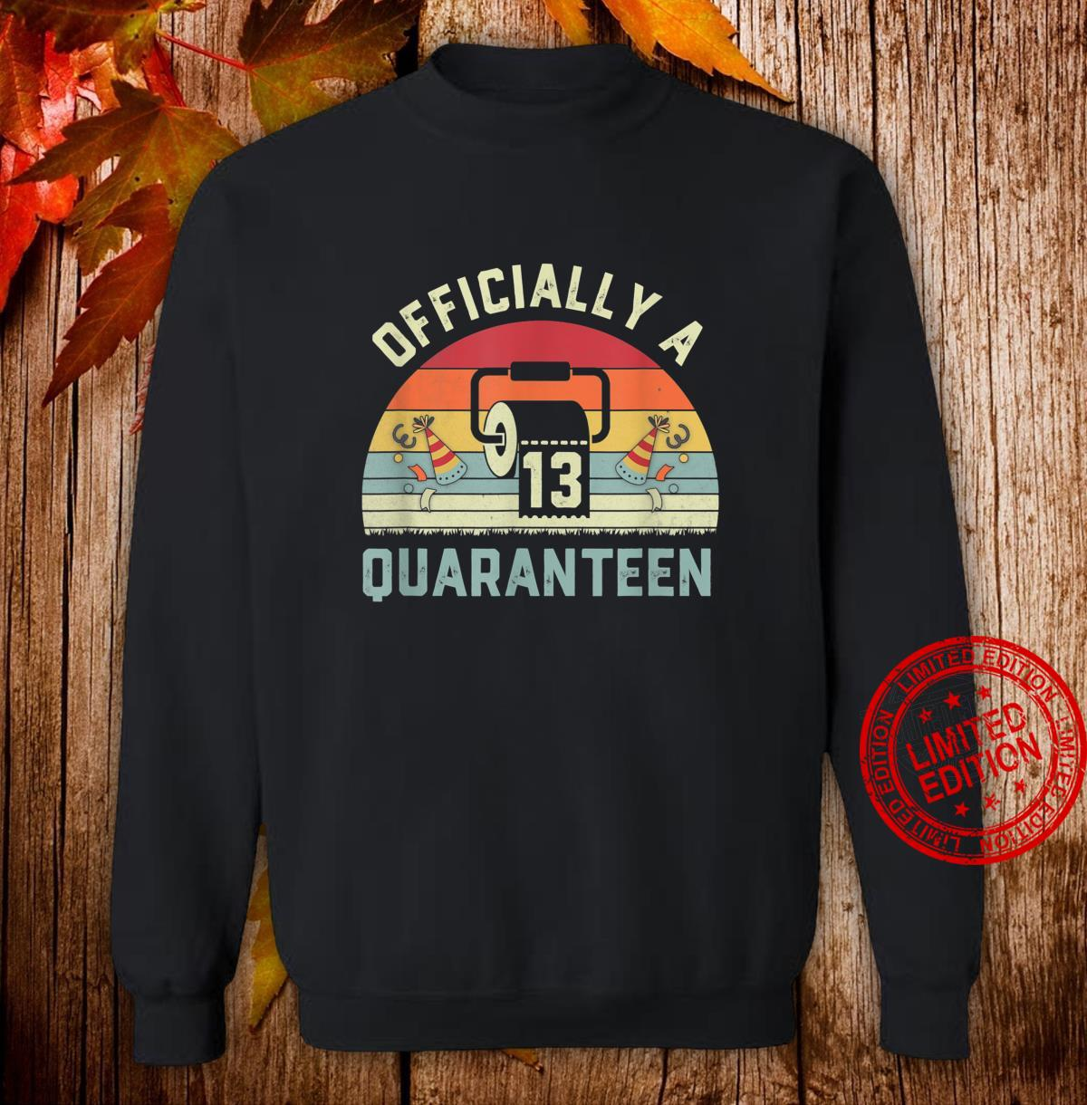 13th Birthday Officially a Quaranteennager 13 Years Old Shirt sweater