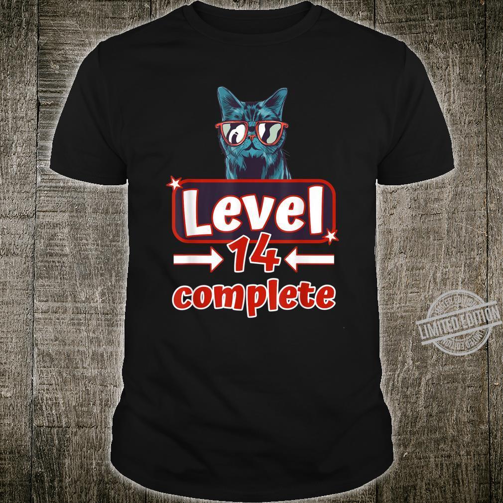 14ter Geburtstag Jungen Geschenk zum 14. Geburtstag Shirt