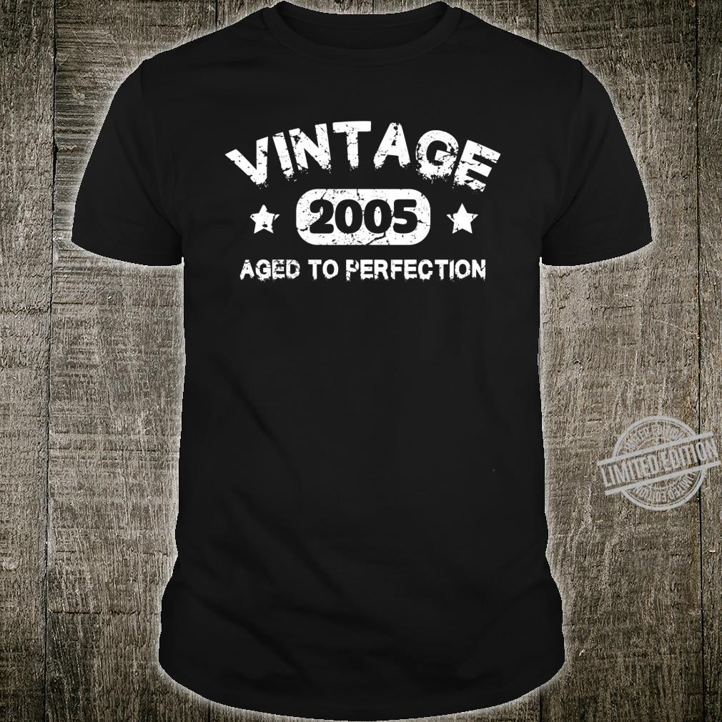 15 Years Old 2005 Vintage 15th Birthday Idea Shirt