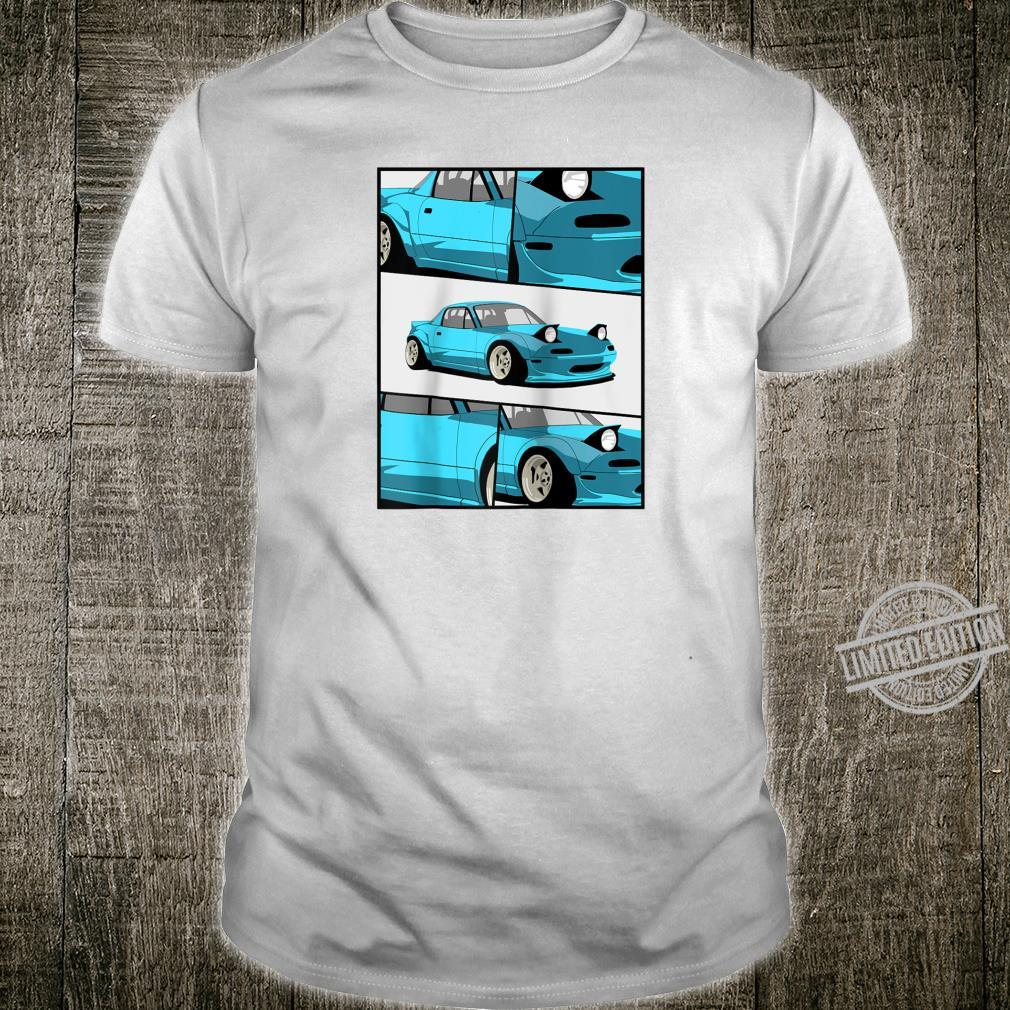 1743.Merch Fragment Japan Drifting Cars JDM New MX5 Shirt