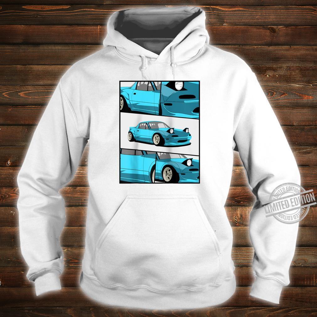1743.Merch Fragment Japan Drifting Cars JDM New MX5 Shirt hoodie