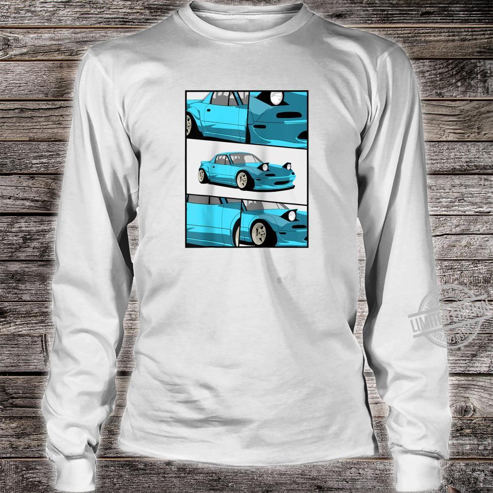 1743.Merch Fragment Japan Drifting Cars JDM New MX5 Shirt long sleeved