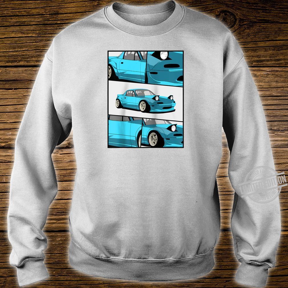 1743.Merch Fragment Japan Drifting Cars JDM New MX5 Shirt sweater