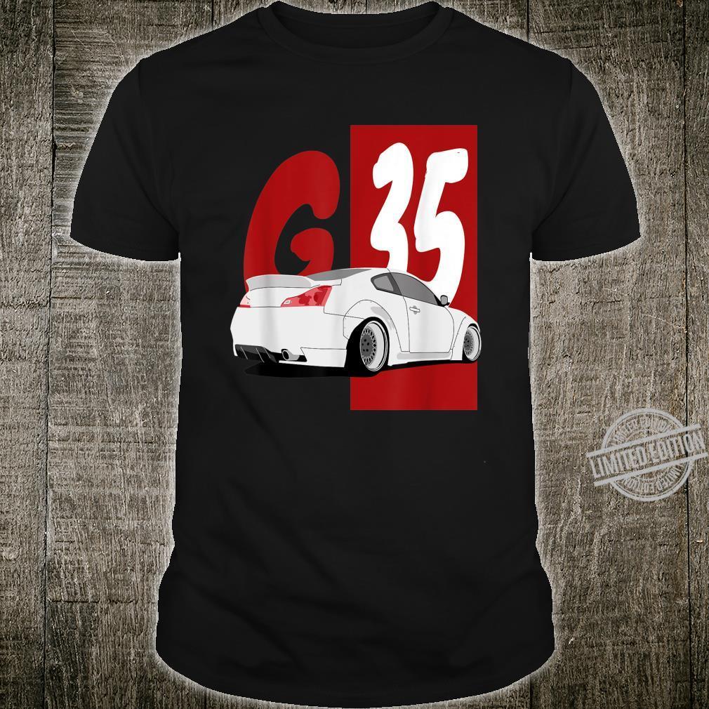 1743.Merch Tuning Drifting JDM Cars SkylineG35 Shirt