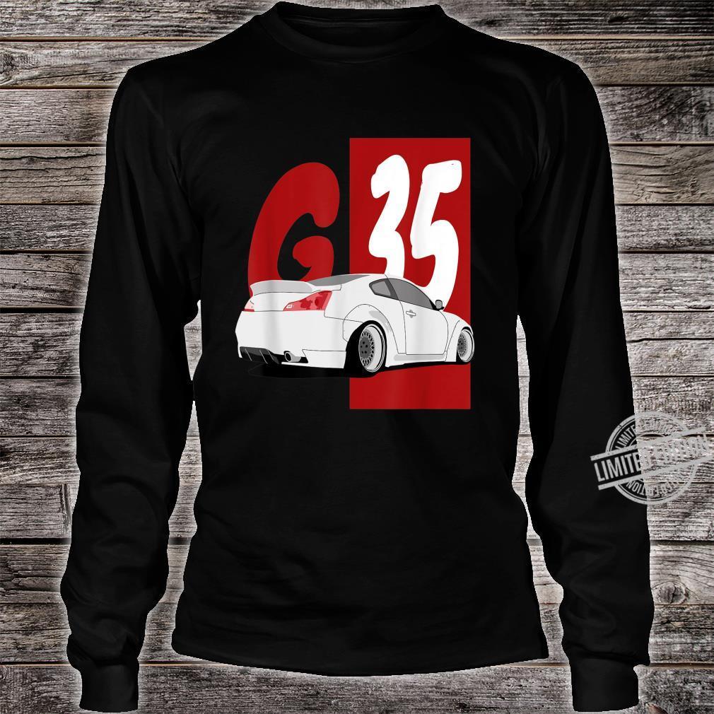 1743.Merch Tuning Drifting JDM Cars SkylineG35 Shirt long sleeved