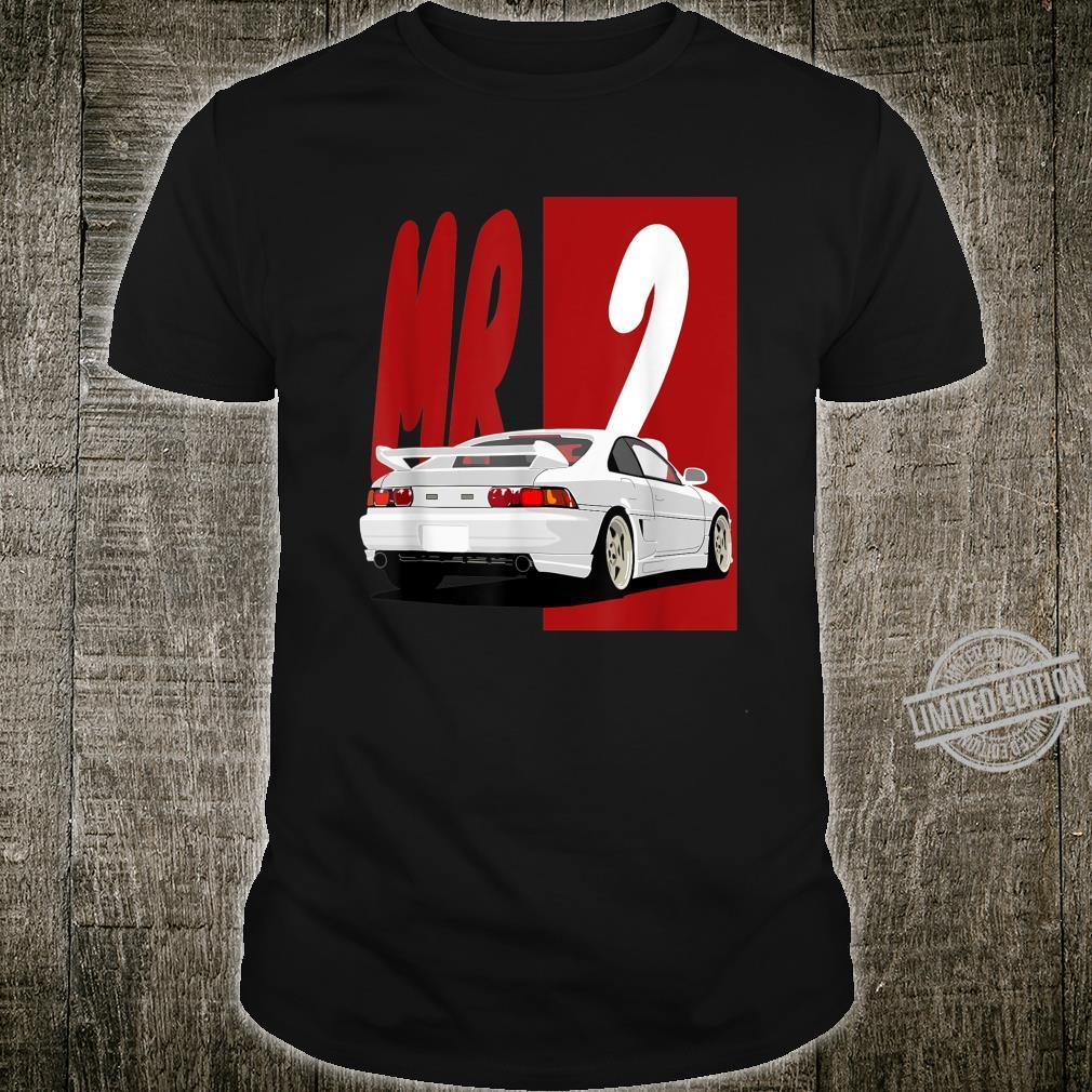1743.Merch Tuning Street Racing JDM Cars MR2 Shirt