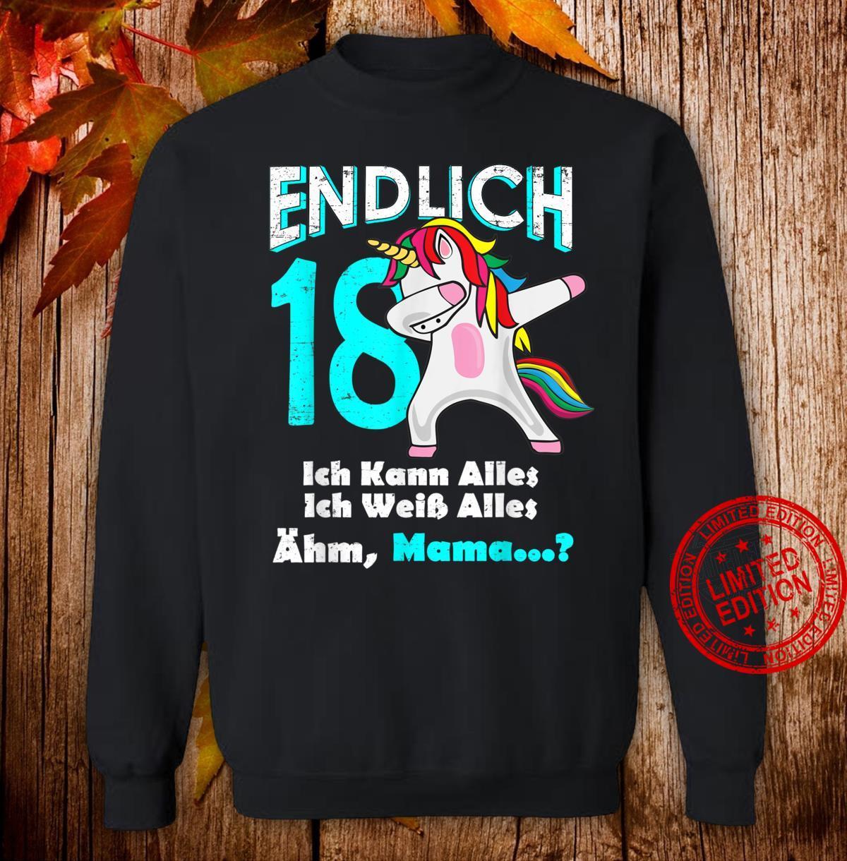 18 Geburtstag Party Madchen 2002 Frau Lustig Geschenk Shirt
