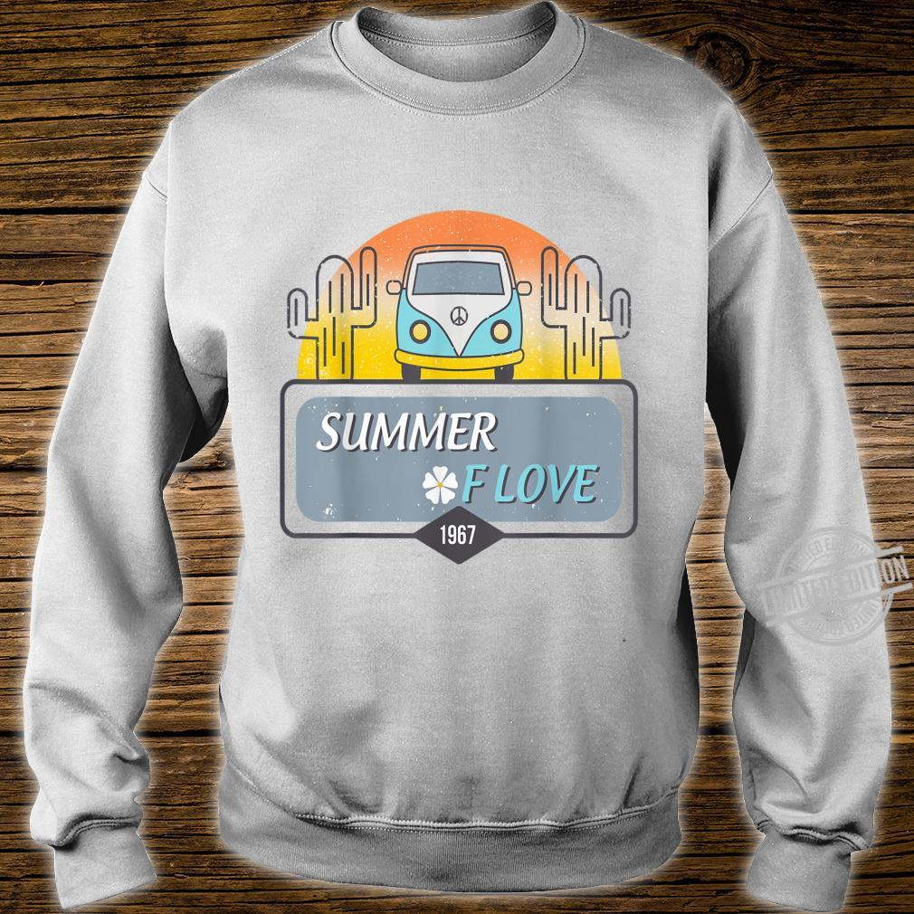 1967 Summer Love Hippie Peace Camper Van Shirt sweater