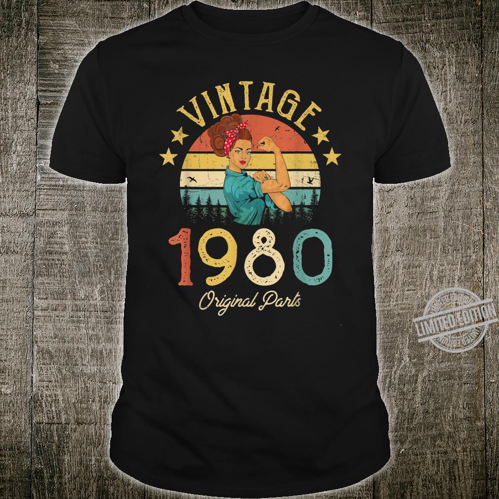 1980 birthday 40th vintage retro Shirt