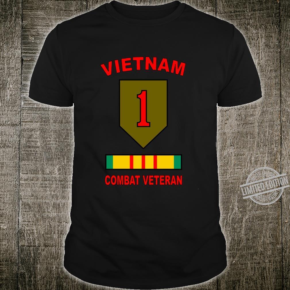 1st Infantry Division Big Red One Vietnam Veteran Combat USA Shirt
