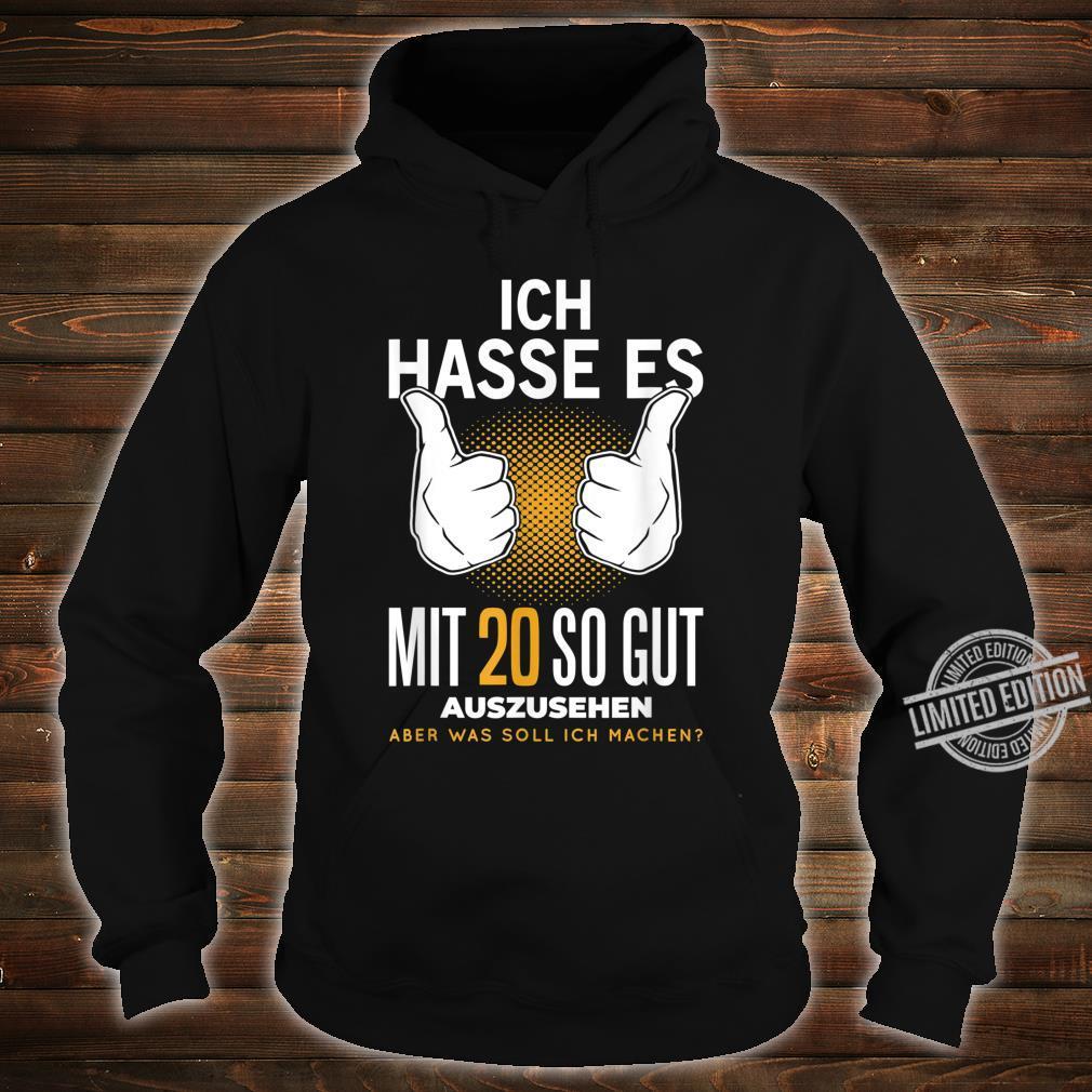 20. Geburtstag 20 Jahre Jahrgang 2000 Witzig Spruch Geschenk Shirt hoodie