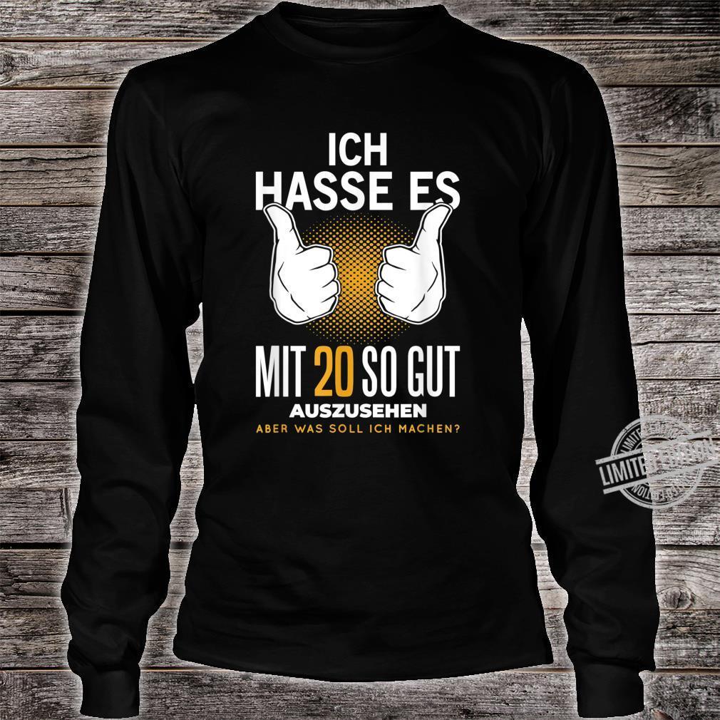 20. Geburtstag 20 Jahre Jahrgang 2000 Witzig Spruch Geschenk Shirt long sleeved