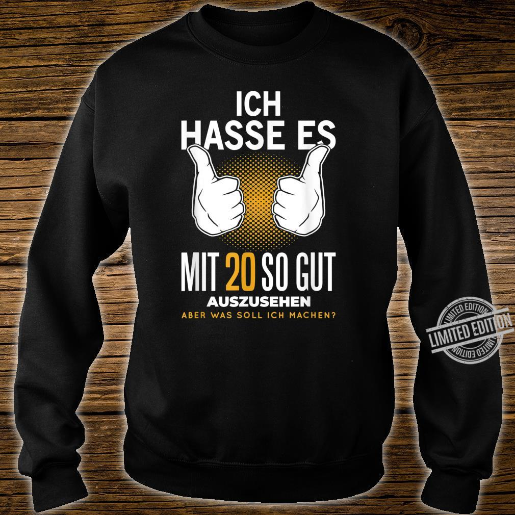 20. Geburtstag 20 Jahre Jahrgang 2000 Witzig Spruch Geschenk Shirt sweater