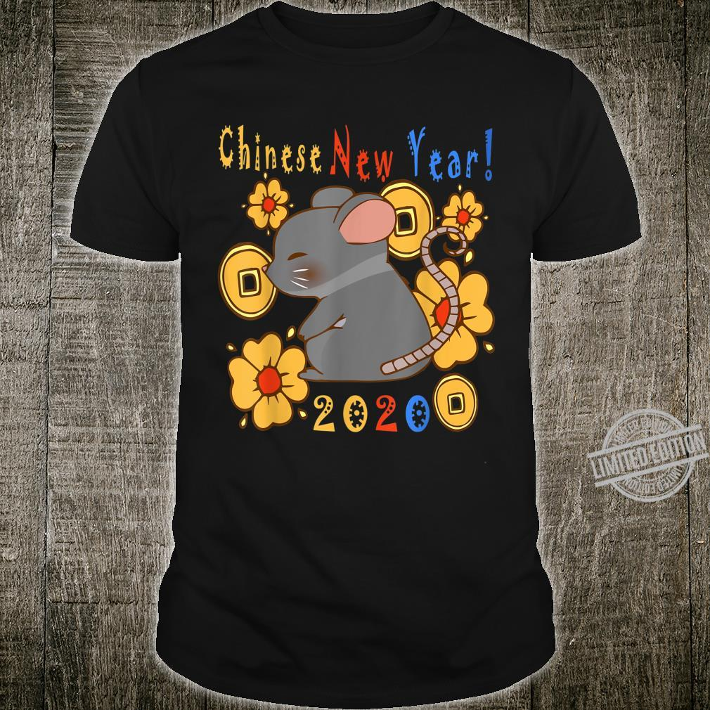 2020 Year Of The Rat Happy New Year Chinese Shirt