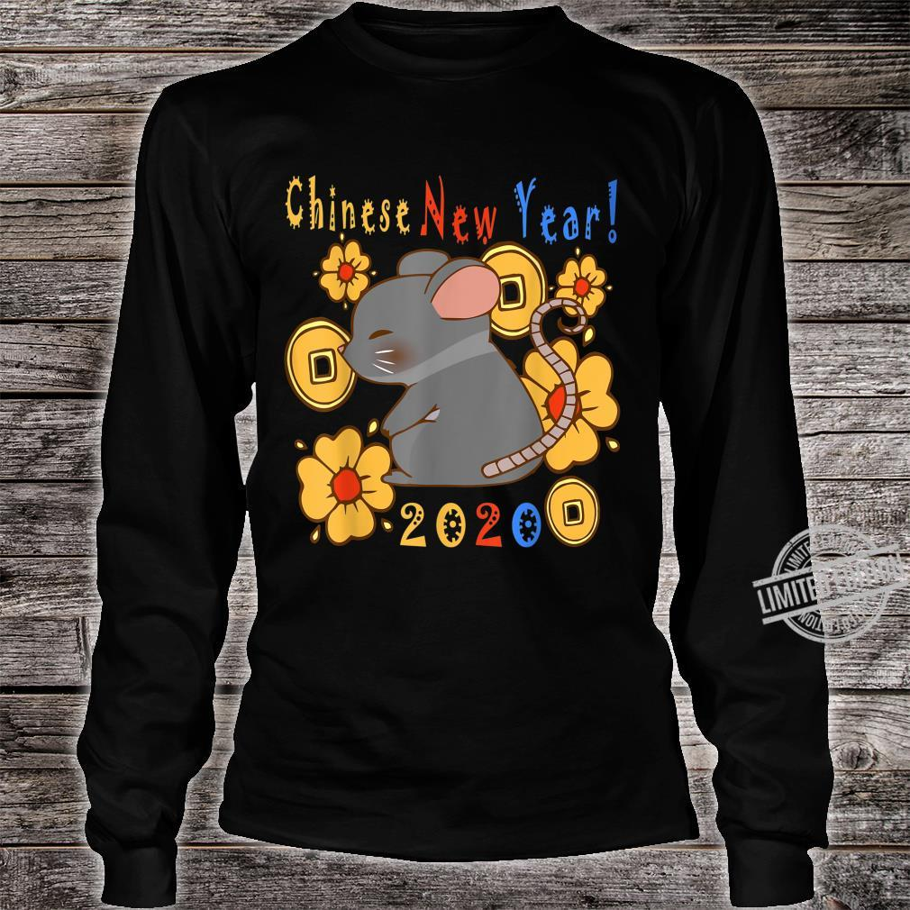 2020 Year Of The Rat Happy New Year Chinese Shirt long sleeved