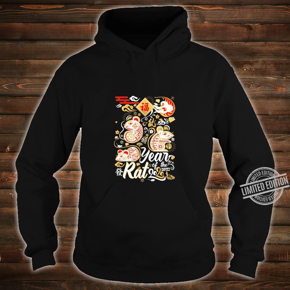 2020 Year of the Rat Happy New Year Shirt hoodie