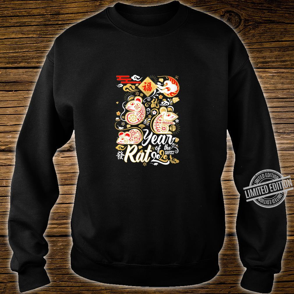 2020 Year of the Rat Happy New Year Shirt sweater