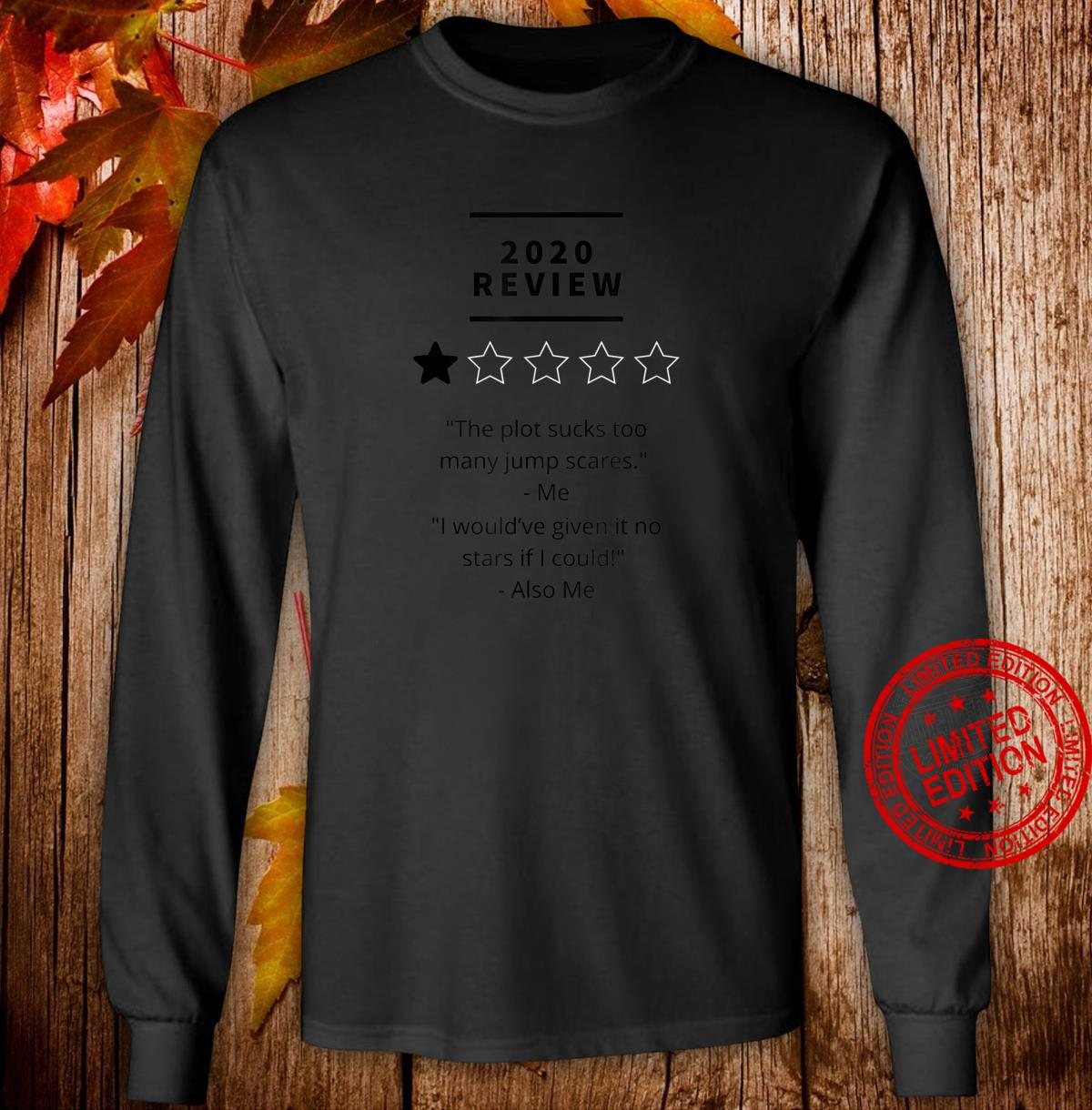 2020 review 1 star rating Shirt long sleeved