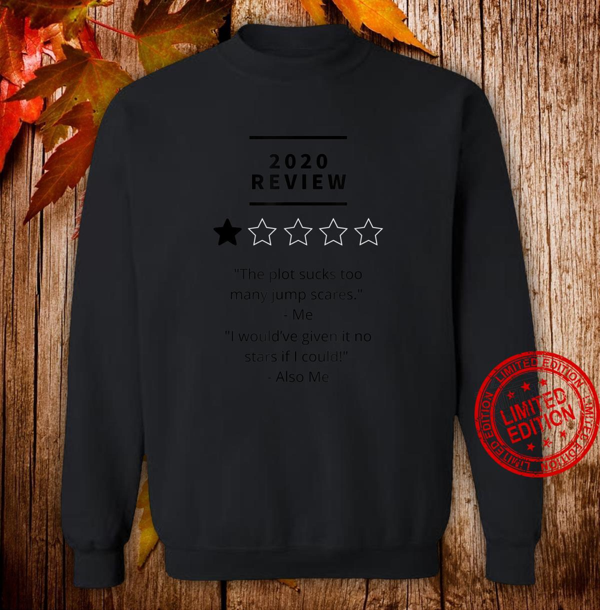 2020 review 1 star rating Shirt sweater