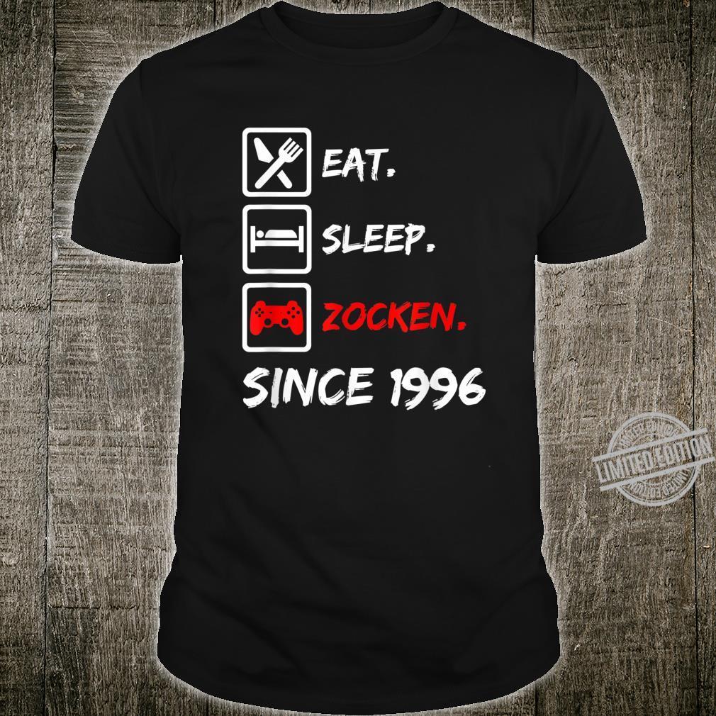 24. Geburtstagnager 24 Jahre 1996 Junge Mädchen Geschenk Shirt