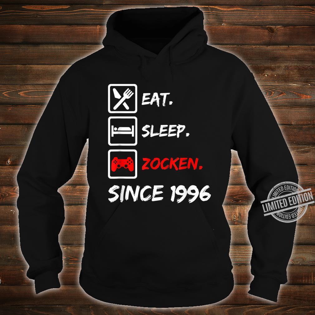 24. Geburtstagnager 24 Jahre 1996 Junge Mädchen Geschenk Shirt hoodie