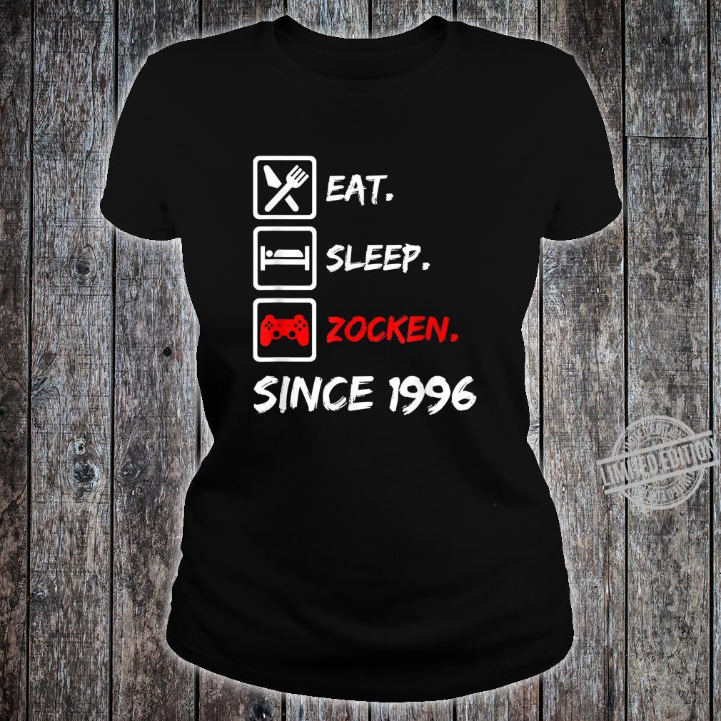 24. Geburtstagnager 24 Jahre 1996 Junge Mädchen Geschenk Shirt ladies tee