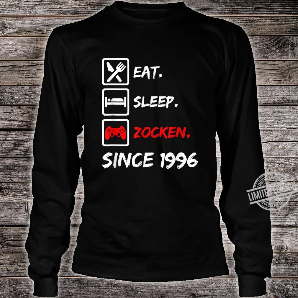 24. Geburtstagnager 24 Jahre 1996 Junge Mädchen Geschenk Shirt long sleeved