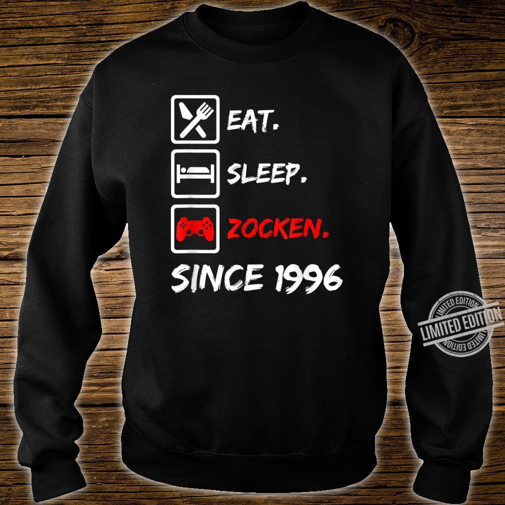 24. Geburtstagnager 24 Jahre 1996 Junge Mädchen Geschenk Shirt sweater