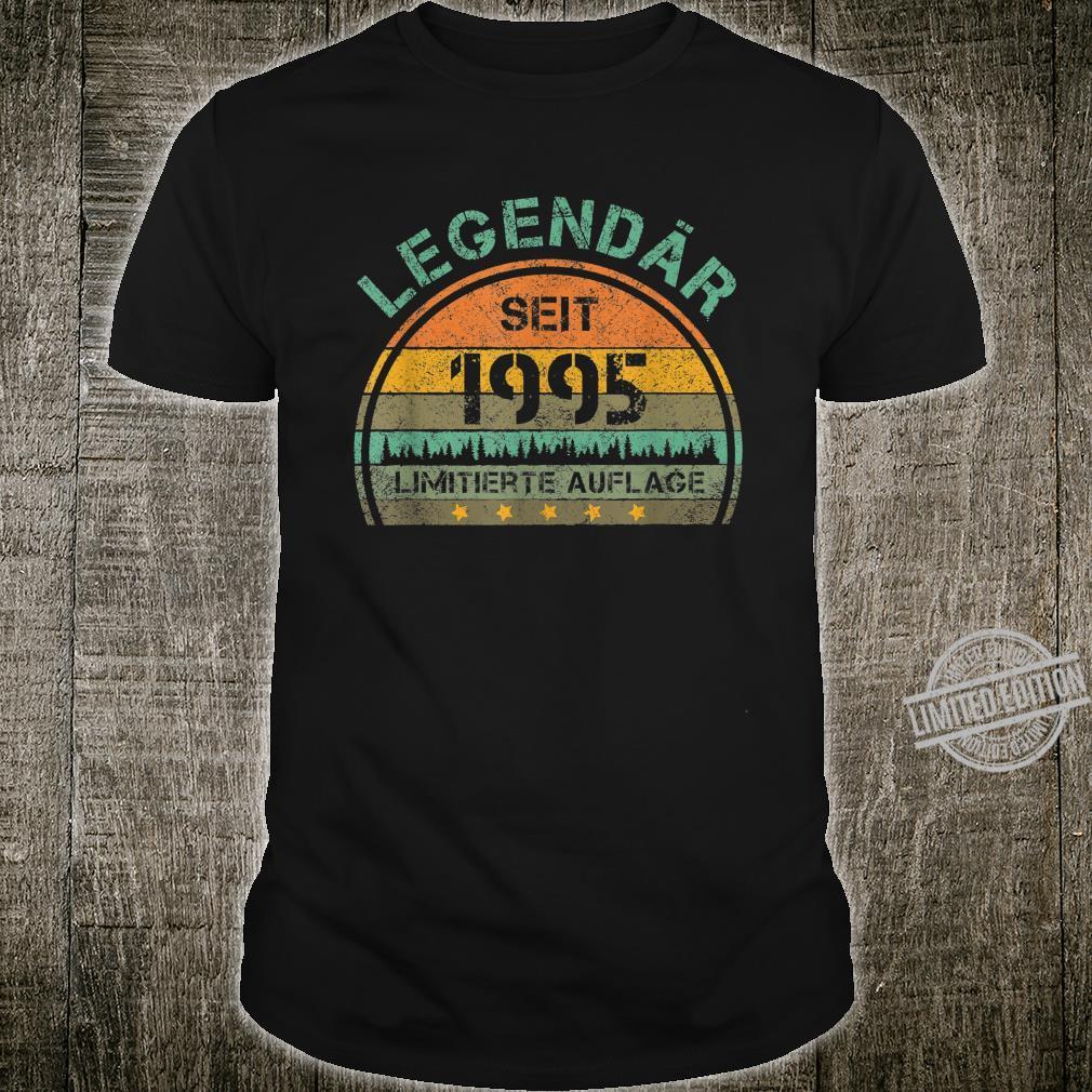 25. Geburtstag 25 Jahre Legendär 1995 Limitierte Auflage Shirt