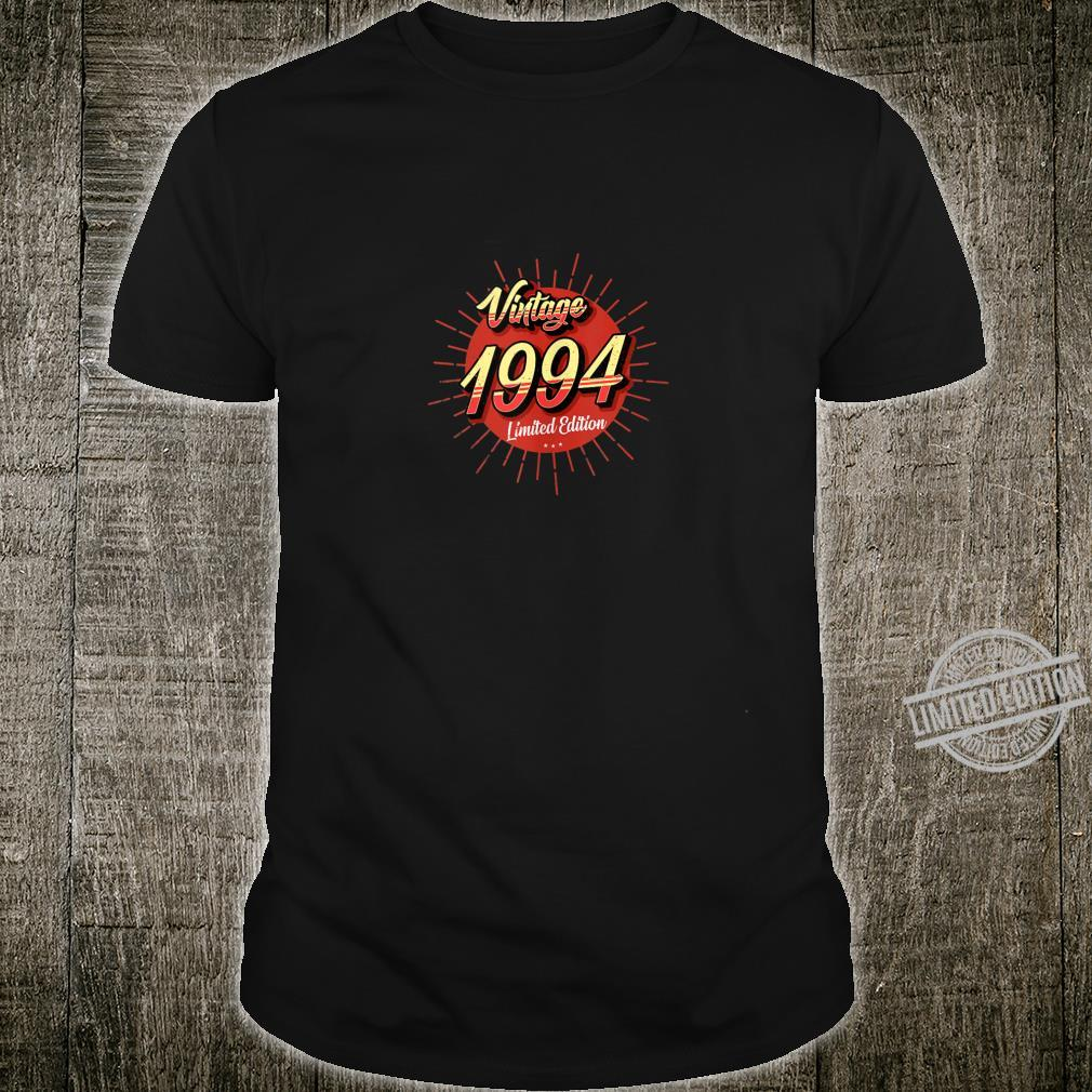 26th Birthday Idea Vintage 1994 Limited Edition Shirt