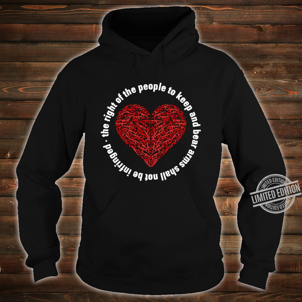 2nd Amendment Pro Gun Rights Shirt hoodie
