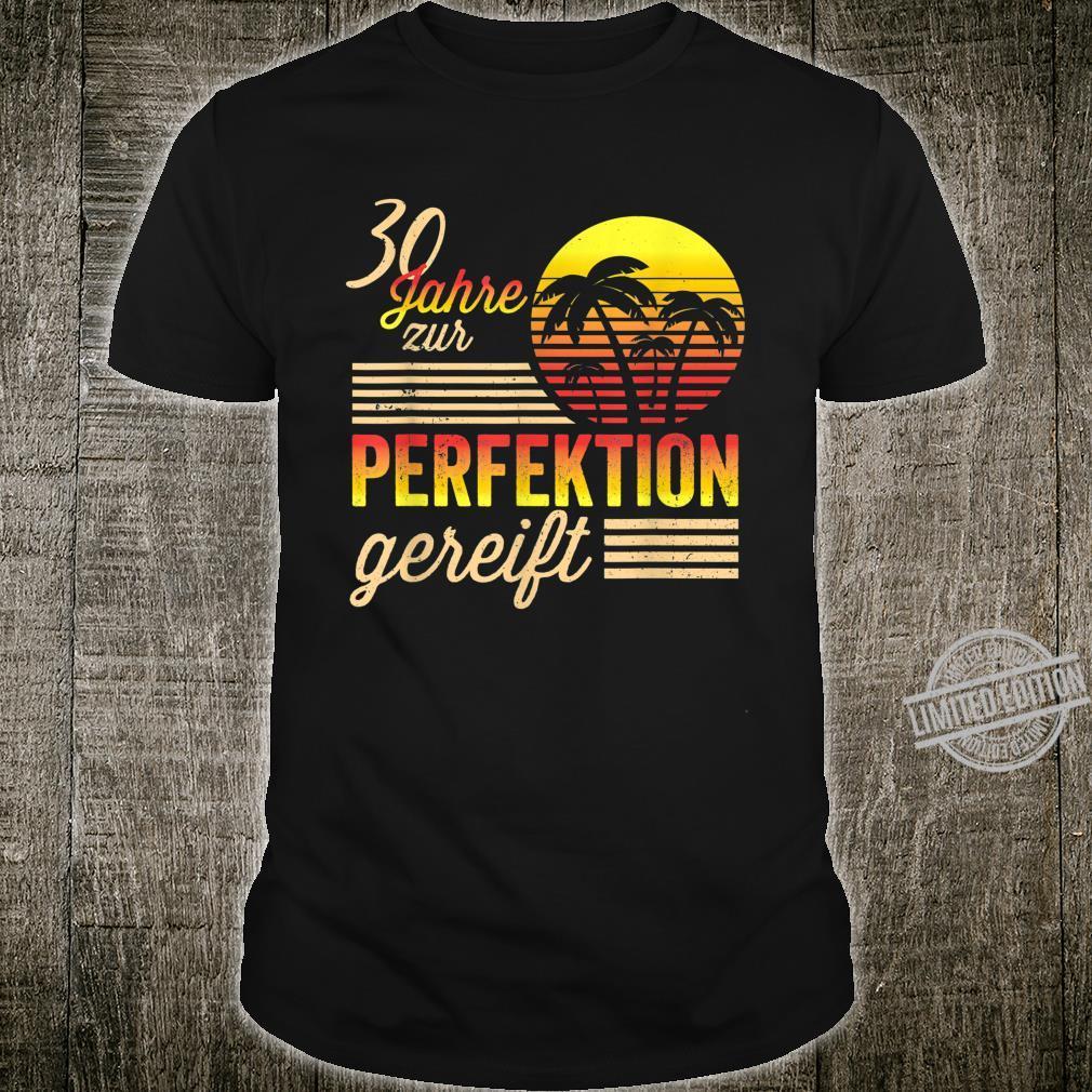 30 Mann Perfektion Gereift September 1990 30. Geburtstag Shirt