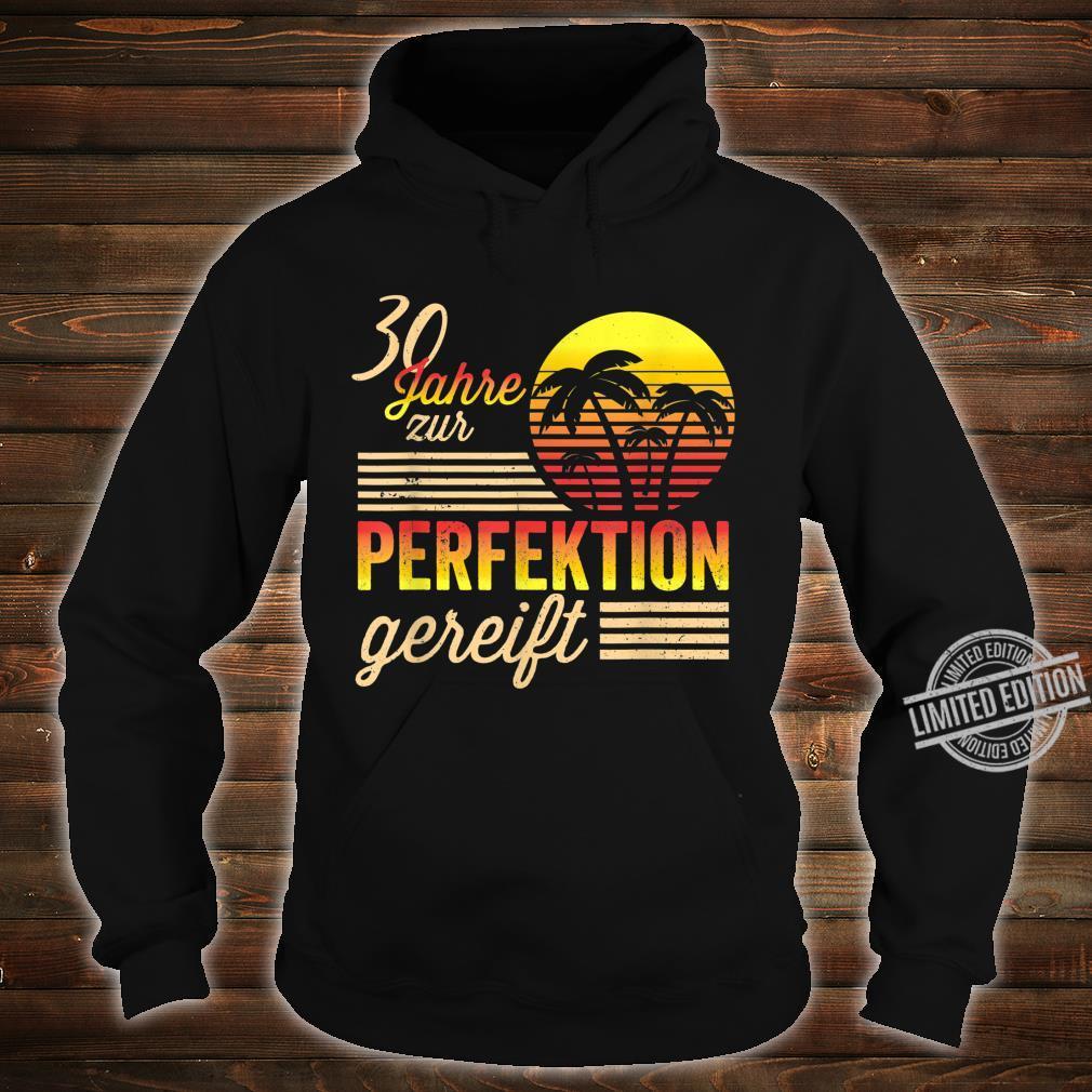 30 Mann Perfektion Gereift September 1990 30. Geburtstag Shirt hoodie