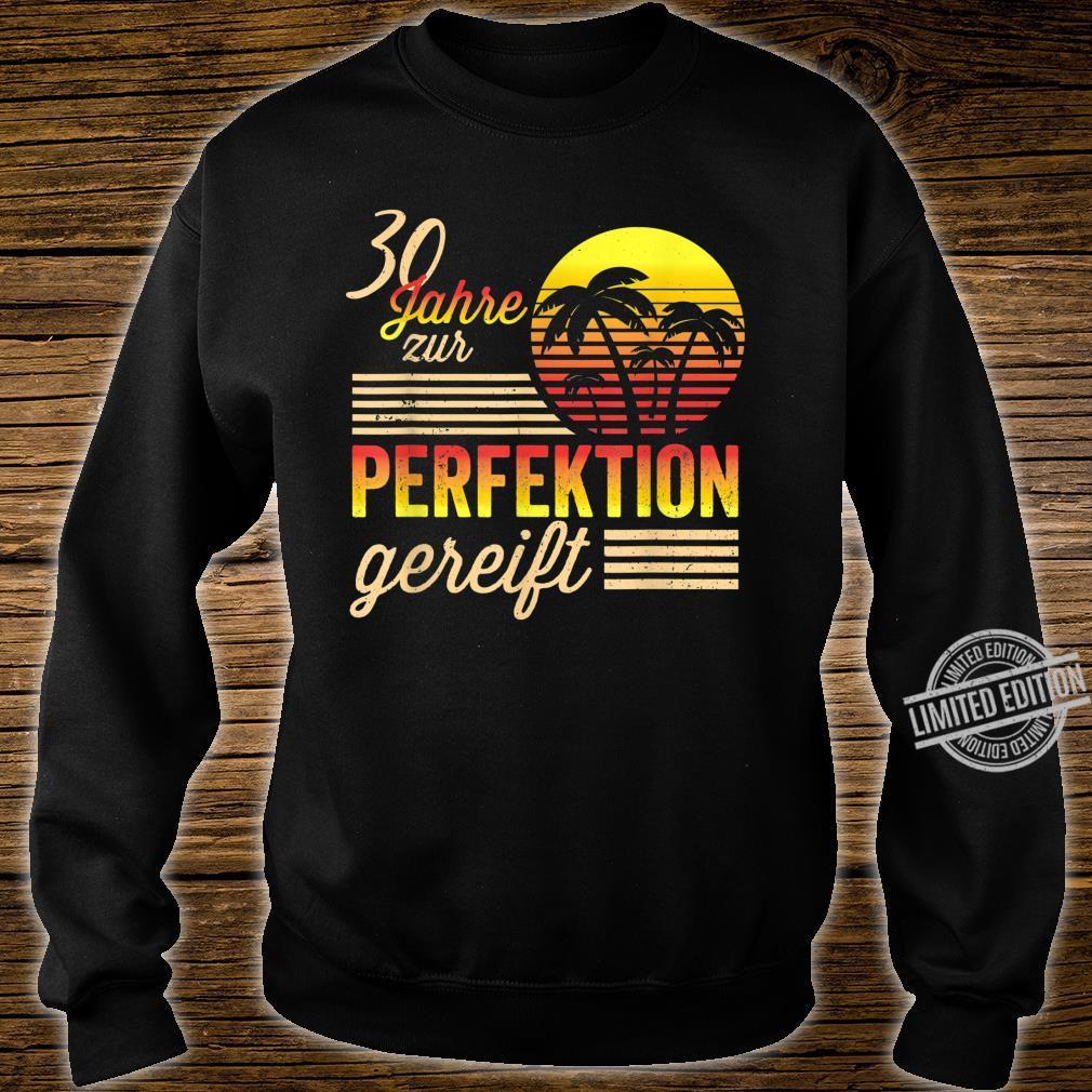 30 Mann Perfektion Gereift September 1990 30. Geburtstag Shirt sweater