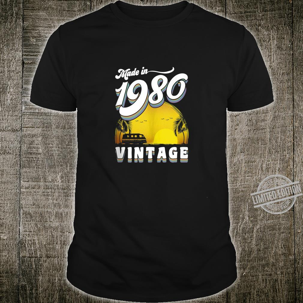 40th Birthday Vintage Made in 1980 Shirt