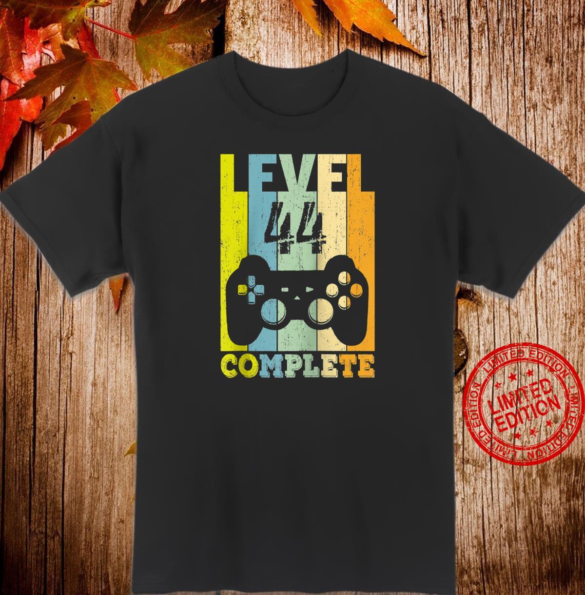 44th Birthday 44 Years Bday Level 44th Shirt