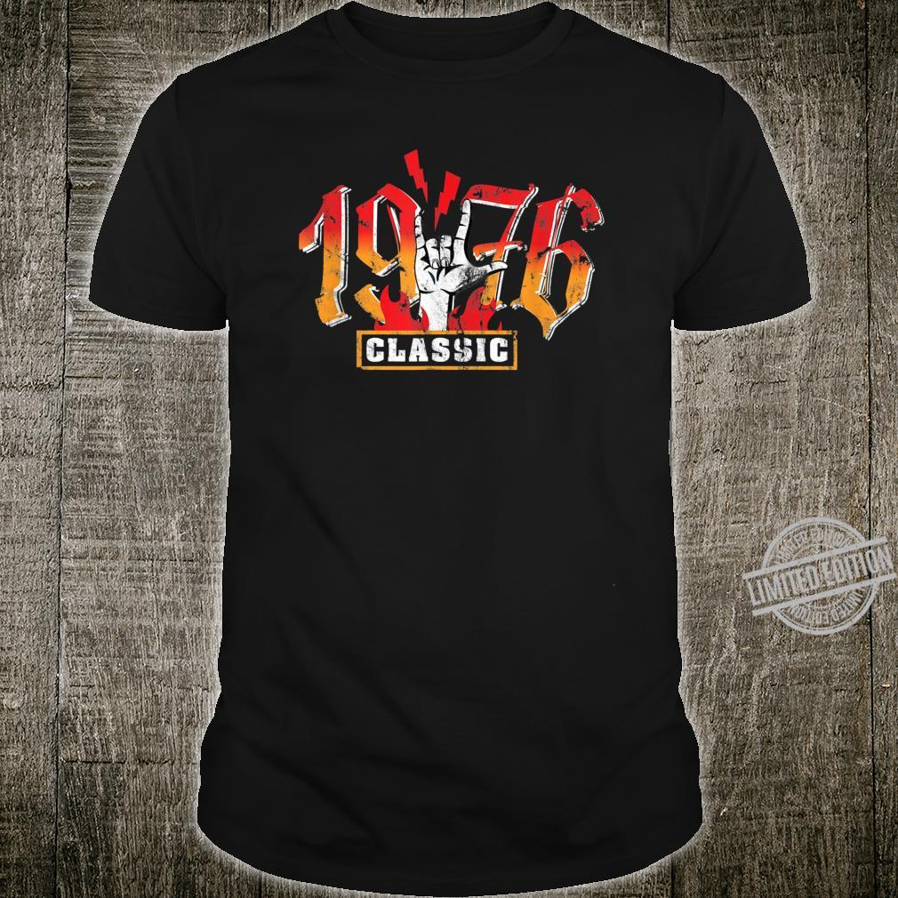 44th birthday vintage 1976 Classic Metalhand Shirt