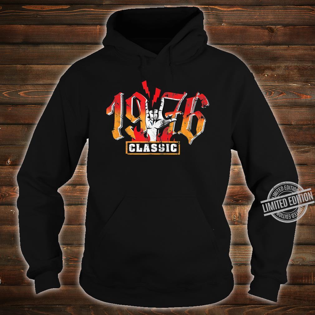 44th birthday vintage 1976 Classic Metalhand Shirt hoodie