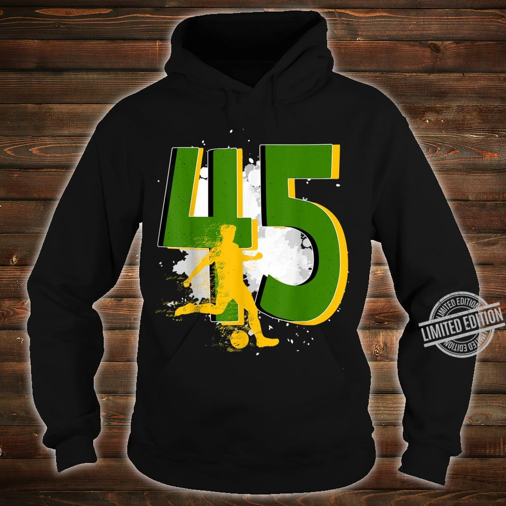 45th Birthday Soccer Player Awesome Born 1975 Shirt hoodie