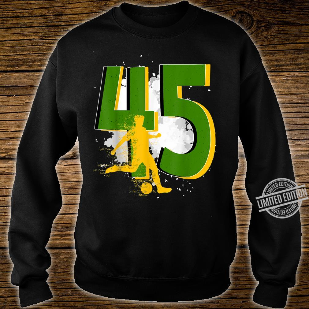 45th Birthday Soccer Player Awesome Born 1975 Shirt sweater