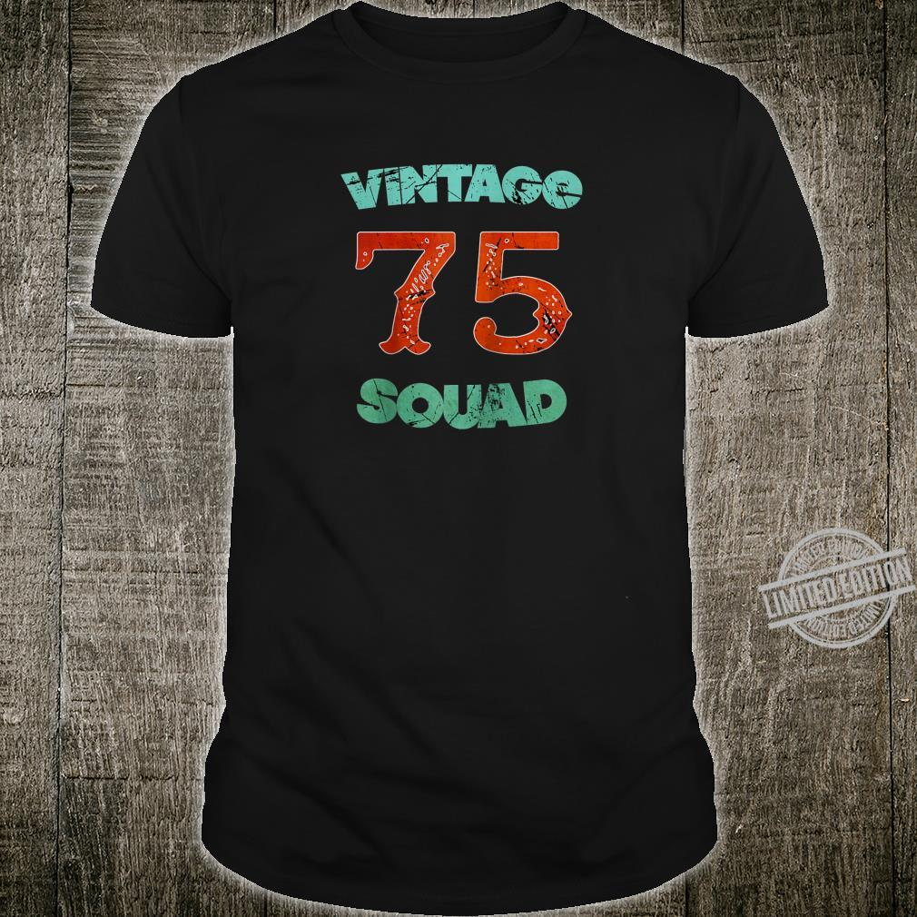 45th Birthday Vintage 1975 45 Years Old Tees Shirt