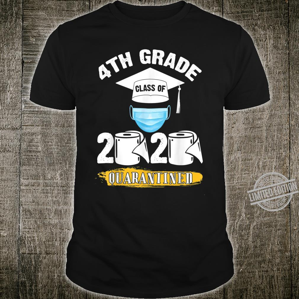 4th Grade Class of 2020 Quarantined Graduate Shirt
