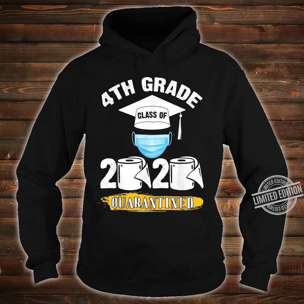 4th Grade Class of 2020 Quarantined Graduate Shirt hoodie