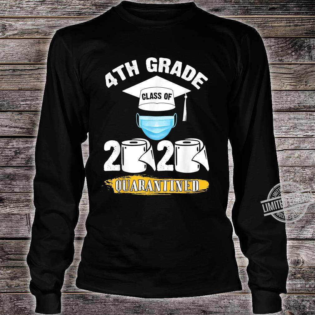 4th Grade Class of 2020 Quarantined Graduate Shirt long sleeved